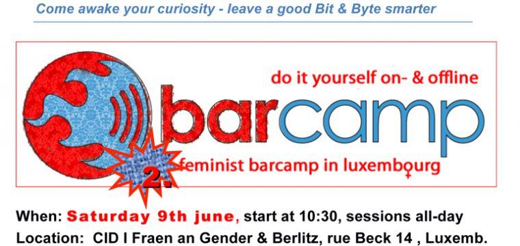 barcamp cid-vdl A5 flyer qr engl 18