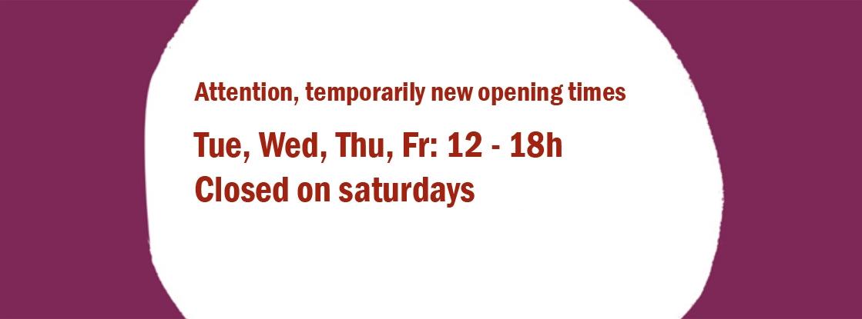 Neue Öffnungszeiten
