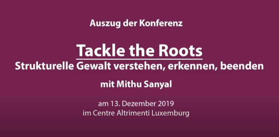 Vortrag Mithu Sanyal über strukturelle Gewalt online
